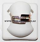 Комплект украшений серебро с золотом Зоя, фото 3
