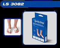 Бандаж для коррекции вальгусной деформации первого пальца стопы Lucky Step LS 3082(левый,правый)