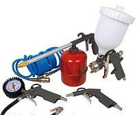Набор пневмоинструментов ERMAN (5шт)