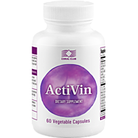 Активин 60 капсул витамины для глаз, укрепление сосудов, капилляров, улучшение микроциркуляции  USA