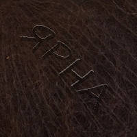 Пряжа Кид мохер (6520-шоколад с краснин),(Кид Мохер(70%),Полиамид(30%)),REX(Iталiя),25(гр),250(м)