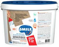 Шпатлевка «SMILE®» SP12 стартовая 5 кг