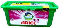 Ariel Гель для стирки в капсулах Color & Style +Lenor 28 шт
