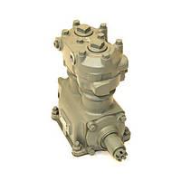 Компрессор 2-х цилиндровый (без шкива) (201 л/мин) МАЗ, КРАЗ, Т-150, ХТЗ (пр-во БЗА)