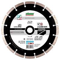 Круг алмазный Distar 1A1RSS/C3-H STAYER 230 мм, сегментный диск для резки асфальта на УШМ, Дистар, Украина