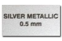 Металл для сублимации - серебро ультрамат