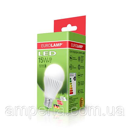 EUROLAMP LED Лампа ЕКО A65 15W E27 4000K (LED-A65-15274(D)), фото 2