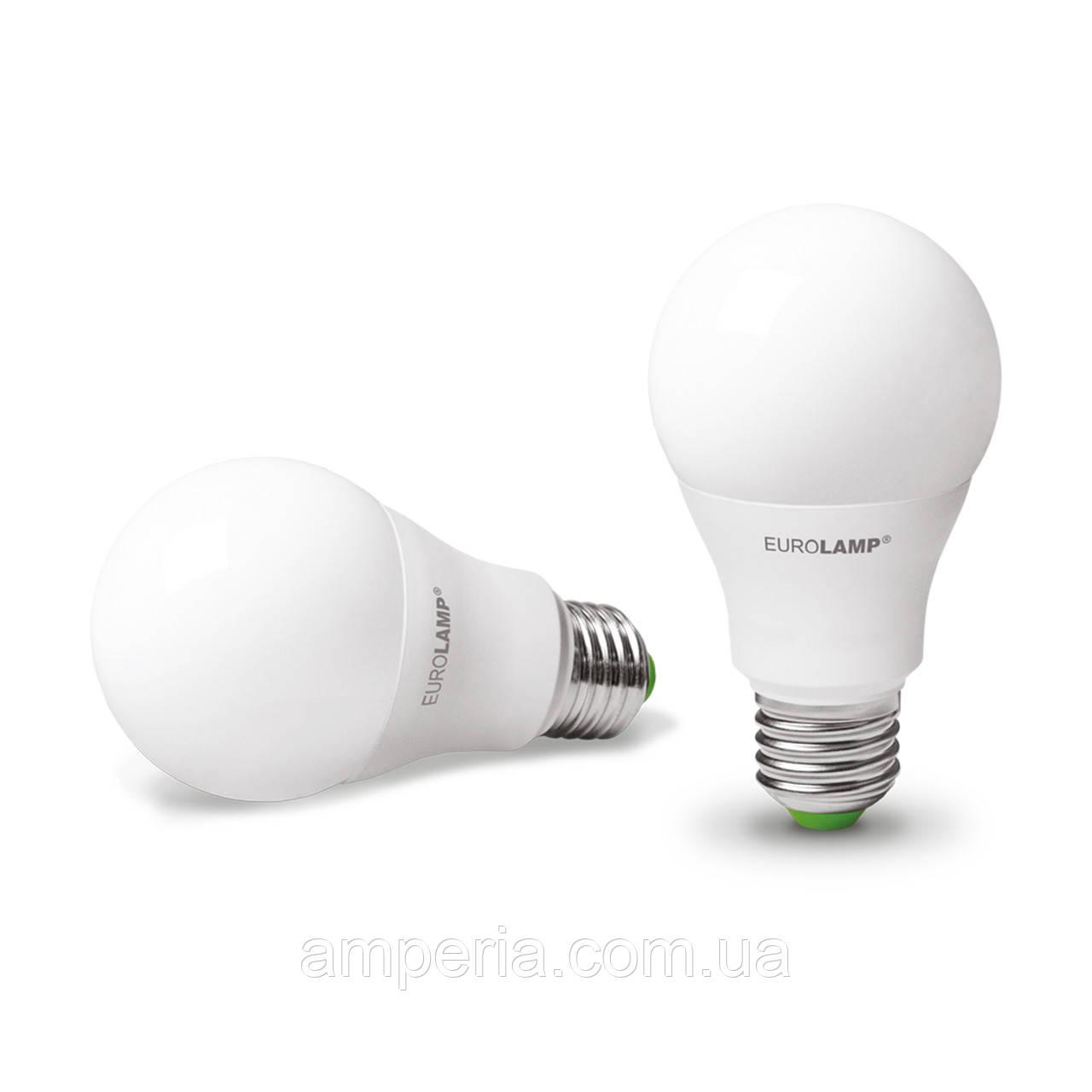 EUROLAMP LED Лампа ЕКО A60 10W E27 4000K (LED-A60-10273(D))
