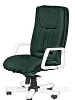 Кресло Палермо Экстра, механизм Anyfix Белый Неаполь-35 Зеленый.