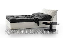 Итальянская мягкая кровать PITAGORA фабрика ALBERTA для матраса 160х200