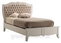 Итальянская классическая одноместная кровать из натурального дерева коллекция DECO фабрика Francesco Pasi