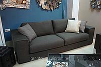 Трехместный раскладной диван MANHATTAN в серой ткани фабрика ALBERTA (Италия)