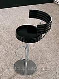 Итальянский барный стул регулируемый по высоте Happy Kreek фабрики MIDJ, фото 2