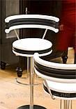 Итальянский барный стул регулируемый по высоте Happy Kreek фабрики MIDJ, фото 4