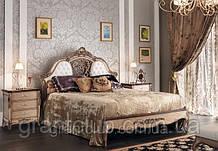 Итальянская классическая кровать из натурального дерева коллекция GRAN GUARDIA фабрика Francesco Pasi