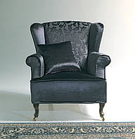 Итальянское кресло с ушками CAMILLA фабрика ASNAGHI SALOTTI, фото 1
