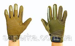 Рукавиці тактичні з закритими пальцями BLACKHAWK! Олива, фото 3