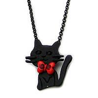 Подвеска Любимые кошки чёрная