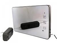 Комплект зеркального девяти дюймового домофона PC-938R2-MIR и вызывной панели 480ТВЛ с записью видео