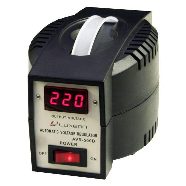 Стабілізатор напруги релейний Luxeon AVR-500D 500Вт