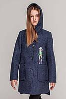 """Весеннее кашемировое пальто с капюшоном  """"Элина"""""""