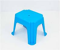 """Гр Стульчик маленький прямоугольный (10) - цвет голубой """"K-PLAST"""""""