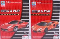 Игровой конструктор аналог Лего Спортивная машина, два вида