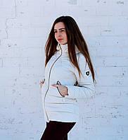 Женская курточка белая куртка весна осень