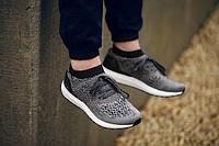 Мужские кроссовки Adidas Ultra Boost Eminence Grise (Адидас) серые