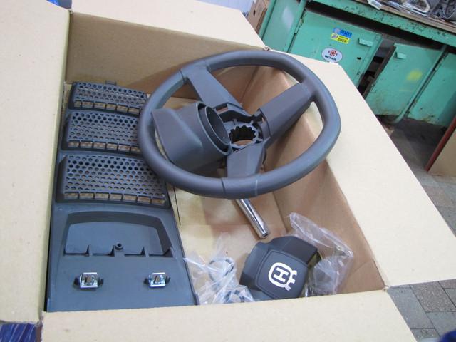 9 2 Установка рулевого управления на садовый минитрактор газонокосилку