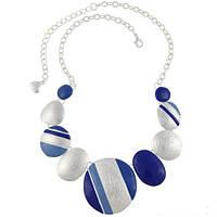 Ожерелье Мираж синее