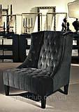 Итальянское кресло с высокой спинкой и декором капитоне VITTORIA фабрика Softhouse, фото 2