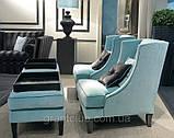 Итальянское кресло с высокой спинкой и декором капитоне VITTORIA фабрика Softhouse, фото 4