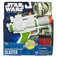 """Игрушечный бластер генерала Гривуса из м/с """"Войны клоно"""" - """"The Clone Wars"""", General Grievous blaster, Hasbro"""