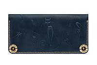 Кожаный кошелёк Gato Negro Catswill Blue