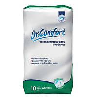 """Впитывающие пеленки """"Dr.Comfort """" 10 шт. в упаковке  60*90"""