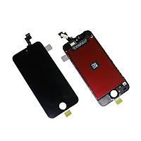 Дисплей (Модуль) iPhone 5S + рамка - черного цвета High-copy
