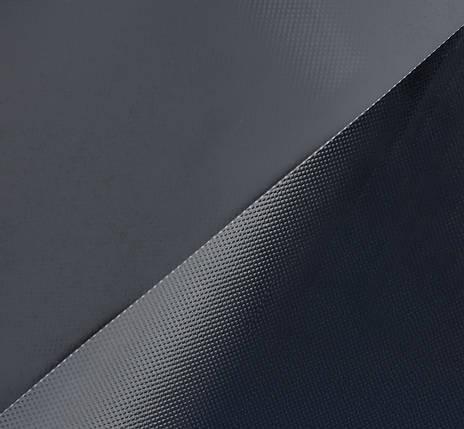 Ткань ПВХ (PVC) 1х2,05м черная 950гр, фото 2