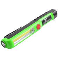 Фонарик для кемпинга Q3-LM+COB, 5 Вт, направленный/рассеянный свет, магнит, клипса, цвет в ассортименте