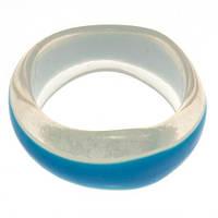 Пластиковый браслет на руку B001765 голубой