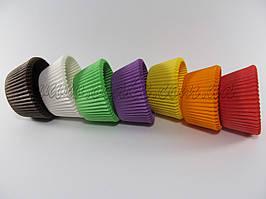Бумажные формы для маффинов, цвета в ассортименте