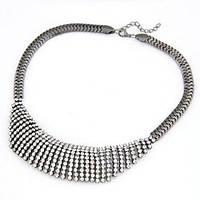 Ожерелье Роберта под серебро