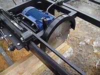 Дисковая пилорама ПДУ-350 5,5 кВт