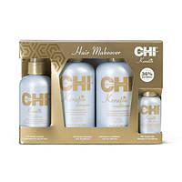 Набор для волос с кератином CHI Keratin Hair Makeover Kit (Сумка в подарок)