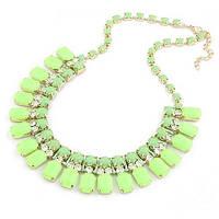 Ожерелье Маркиза P001126 зелёное