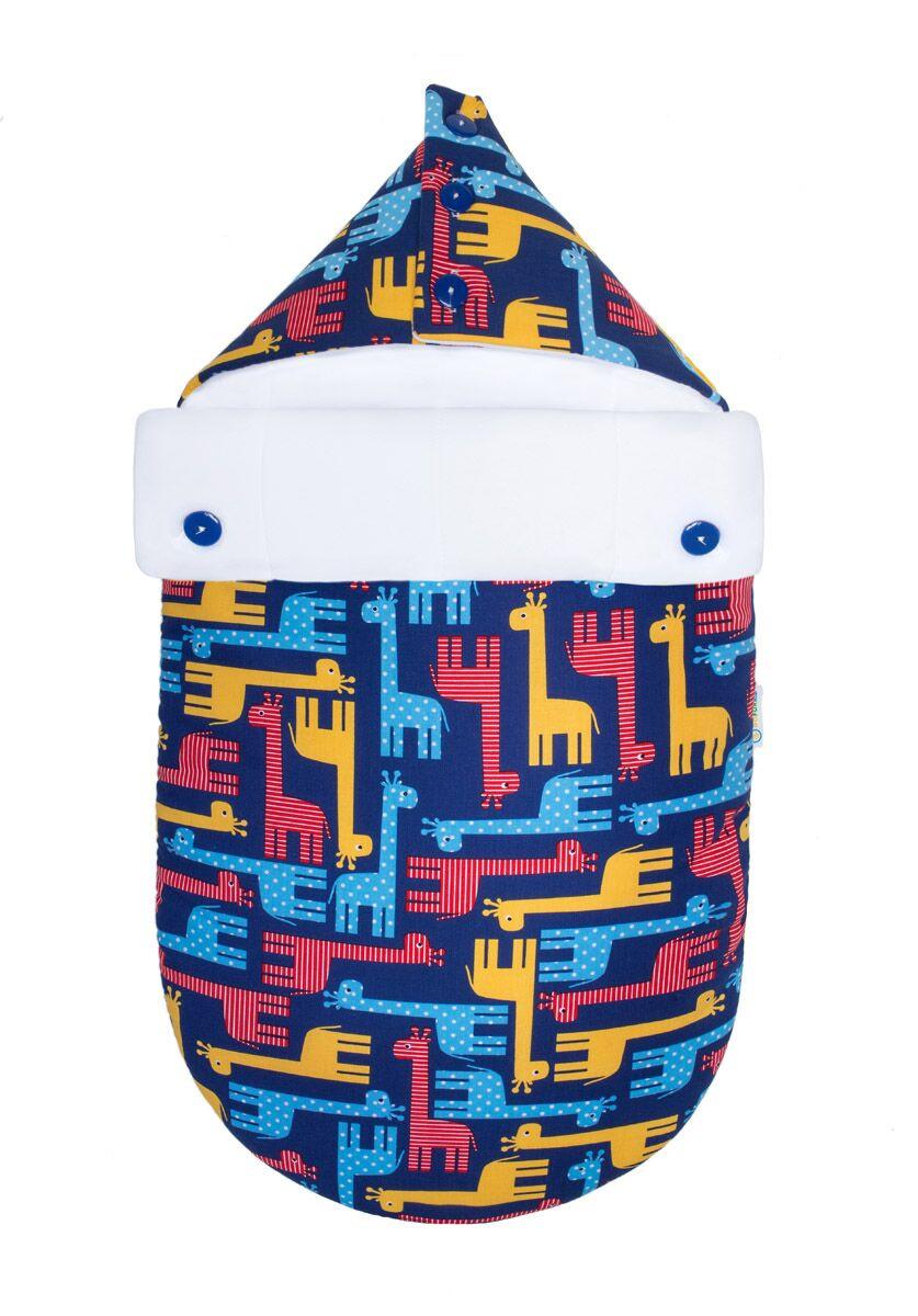 Демисезонный конверт-кокон для младенцев «Жираф Тоха», GoforKid
