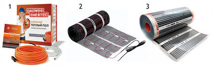 Системы и комплектующие электрического теплого пола