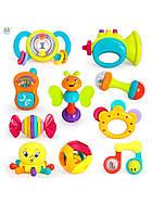 Набор детских погремушек для малыша huile toys 10 штук (939)