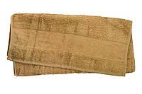 "Полотенце махровое ""Hanibaba"" бамбук 70х140 темно-бежевое"