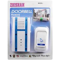 Звонок домашний Zhishan 707 AC, радиус 100 м, 2 Вт, сеть 220 В/батарейка 12 В, пластик, 32 мелодии